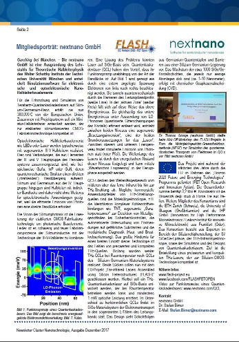 nextnano - Software for semiconductor nanodevices